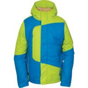 686 Boys Blaze Insulated Jacket Lime, zelená