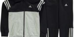 Adidas Three Stripe Jogging Suit dětské Boys Blk