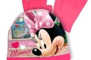 Súprava čiapka a rukavice Minnie Mouse -