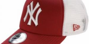New Era Trucker MLB Clean New York Yankees