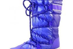 Puma Snow Nylon boot W Purple