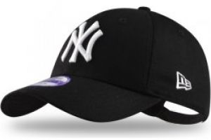 New Era 39thirty MLB League Basic NY Yankees black