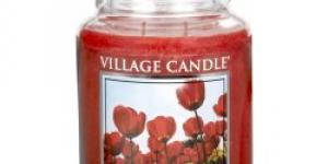 Village Candle Scarlet Berry Tulip 645 g