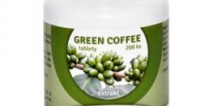Natural Pharm Green Coffee zelená káva 200 tbl.