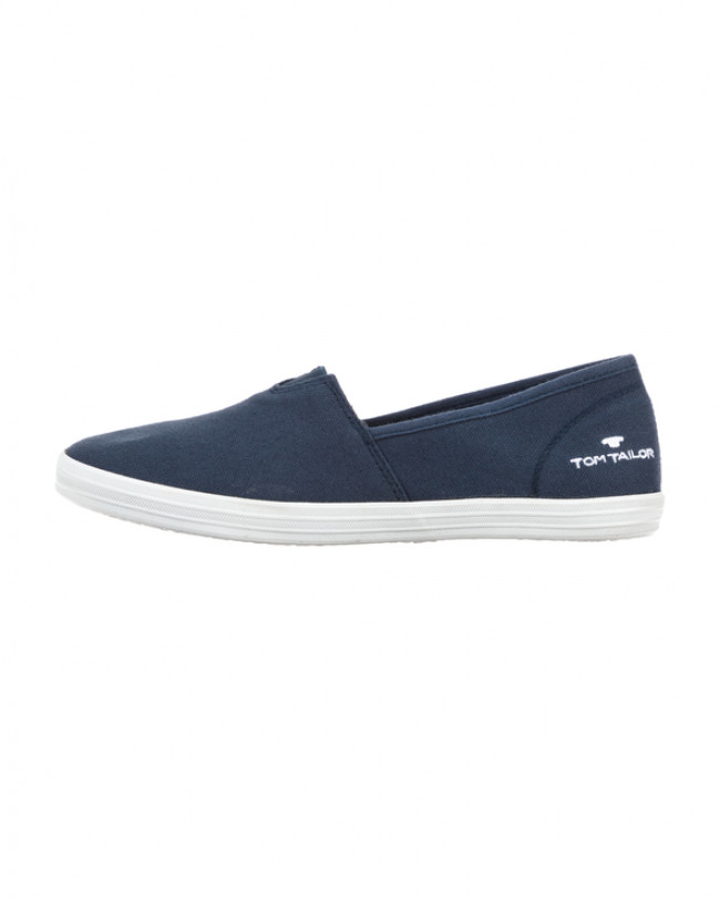 Tom Tailor Slip On Modrá
