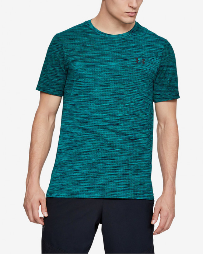 Under Armour Vanish Seamless Tričko Modrá Zelená
