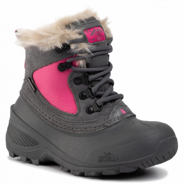 Snehule THE NORTH FACE - Youth Shellista Extreme T92T5VH7D Zinc Grey/Mr. Pink