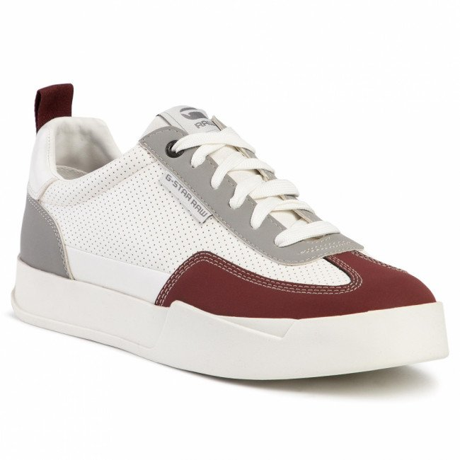 Sneakersy G-STAR RAW - Rackam Dommic D15874-B972-9616 Milk/Dk Bordeaux