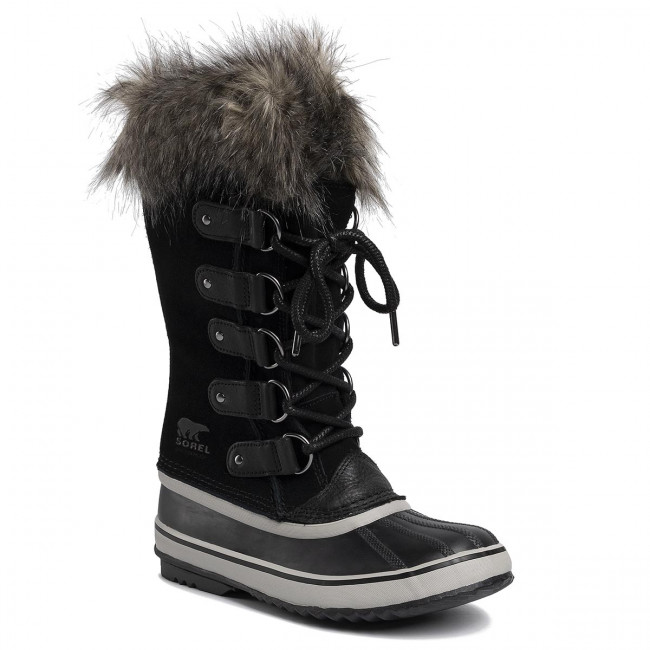 Snehule SOREL - Joan Of Arctic NL3481 Black/Quarry 010