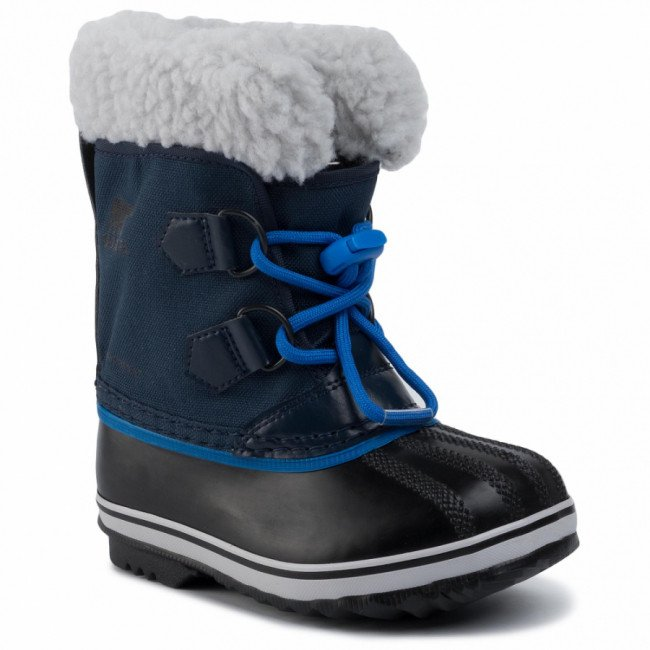 Snehule SOREL - Childres Yoot Pac Nylon NC1962 Collegiate Navy/Super Blue/Bleu Marine Style Universitaire/Ultra Bleu 465
