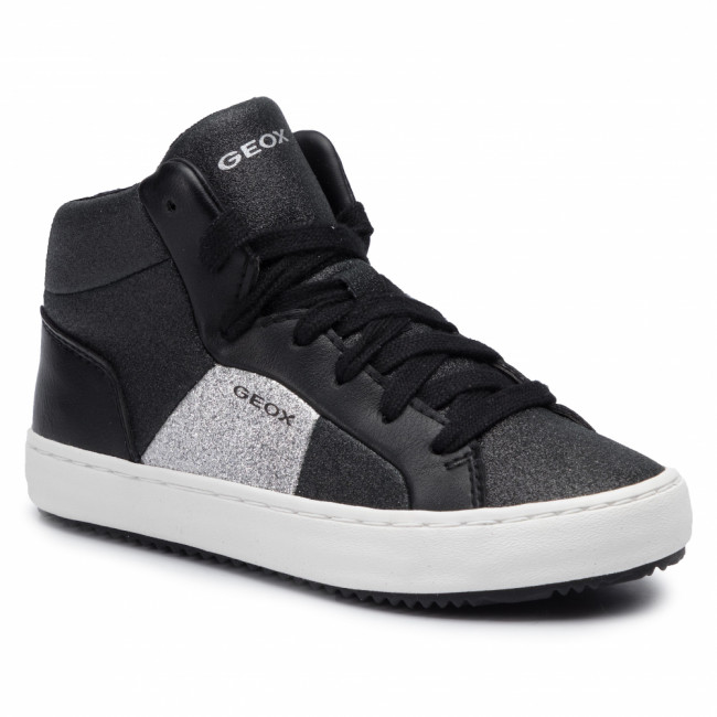 Sneakersy GEOX - J Kalispera G. P J944GP 0CD54 C9999 S Black