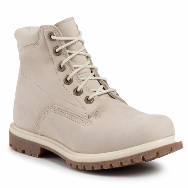 Outdoorová obuv TIMBERLAND - Waterville 6 In Waterproof Boot TB0A1HMC169 White Nubuck