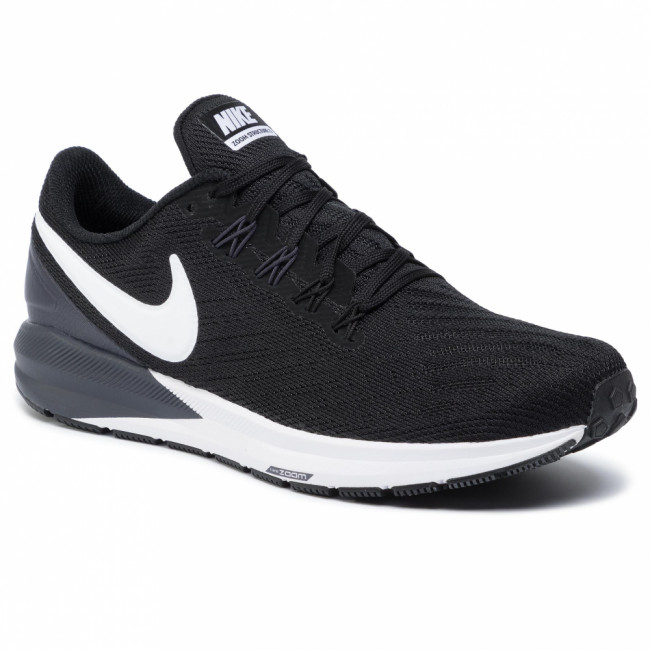 Topánky NIKE - Air Zoom Structure 22 AA1636 002 Black/White/Gridiron