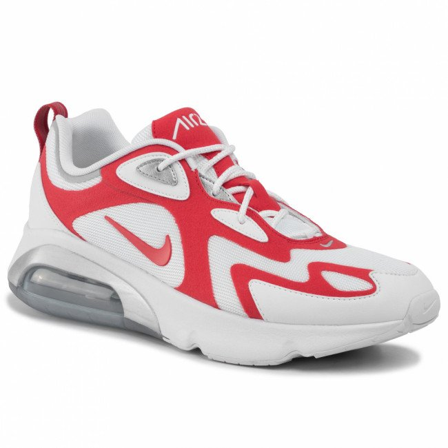 Topánky NIKE - Air Max 200 AQ2568 100 White/University Red