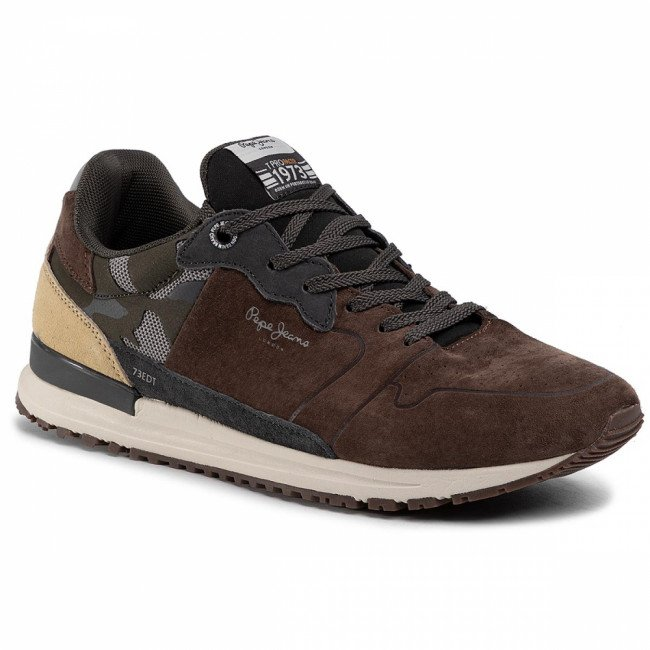 Sneakersy PEPE JEANS - Tinker Pro Racer PMS30583 Stag 884