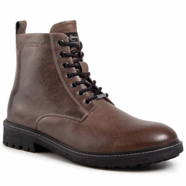 Outdoorová obuv PEPE JEANS - Porter Boot Basic PMS50179 Truffle 886