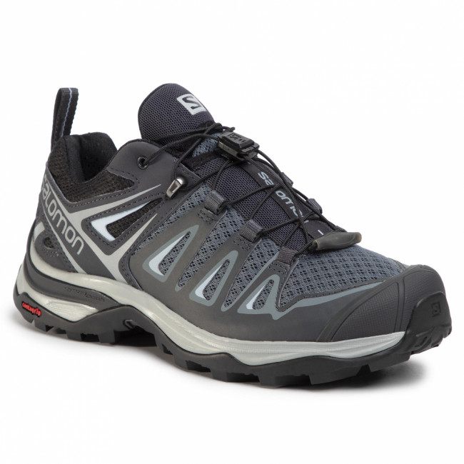 Trekingová obuv SALOMON - X Ultra 3 W 406644 22 M0 Stormy Weather/Ebony/Cashmere Blue