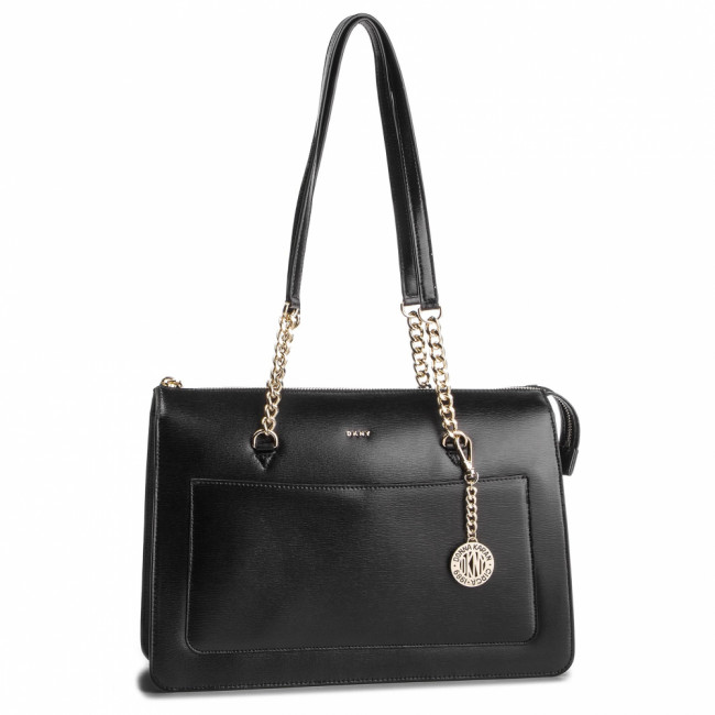 Kabelka DKNY - Bryant Lg Zip Tote R74A3009 Blk/Gold BGD