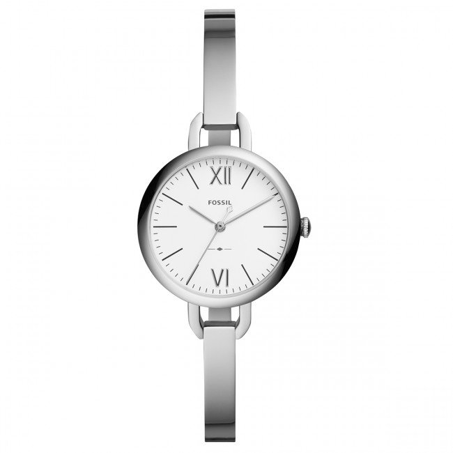 Hodinky FOSSIL - Annette ES4390  Silver/Silver