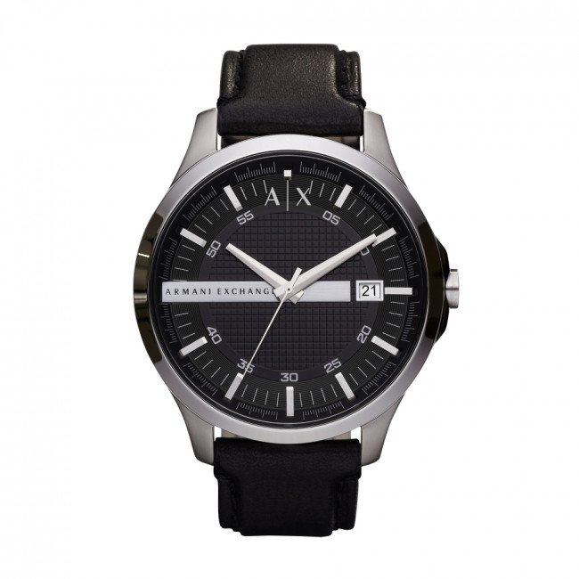 Hodinky ARMANI EXCHANGE - Hampton AX2101  Black/Silver