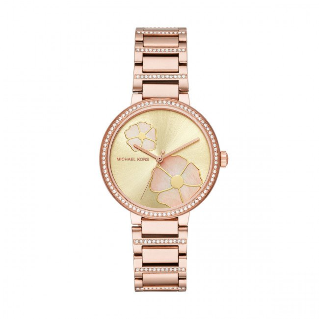 Hodinky MICHAEL KORS - Courtney MK3836 Rose Gold/Rose Gold