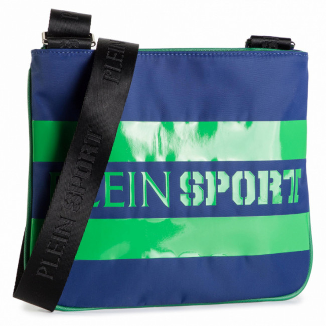 Ľadvinka PLEIN SPORT - Cross body Original P19A MB0715 STRE003N Middle Blue 08