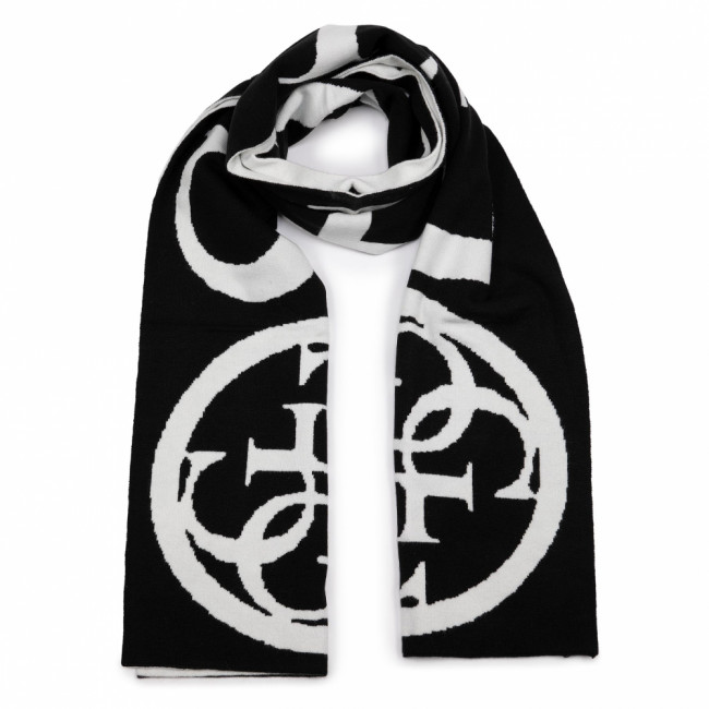Šál GUESS - Not Coordinated Scarves AW8205 WOL03 BLA