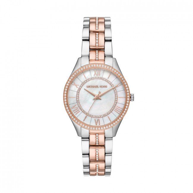 Hodinky MICHAEL KORS - Lauryn MK3979 Silver/Rose Gold