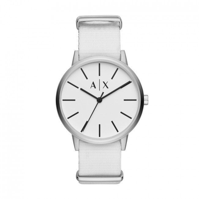 Hodinky ARMANI EXCHANGE - Cayde AX2713 White/Silver