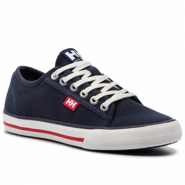 Tenisky HELLY HANSEN - Fjord Canvas Shoe V2 114-66.597 Navy/Red/Off White
