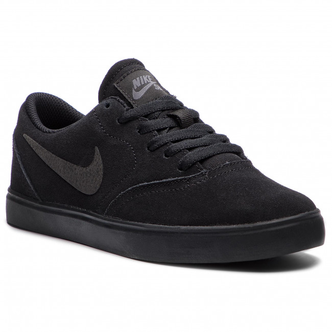 Topánky NIKE - Sb Check Suede (GS) AR0132 001 Black/Black Anthracite