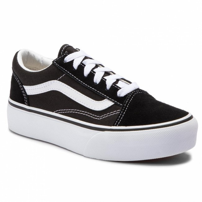 Tenisky VANS - Old Skool Platfor VN0A3TL36BT1 Black/True White