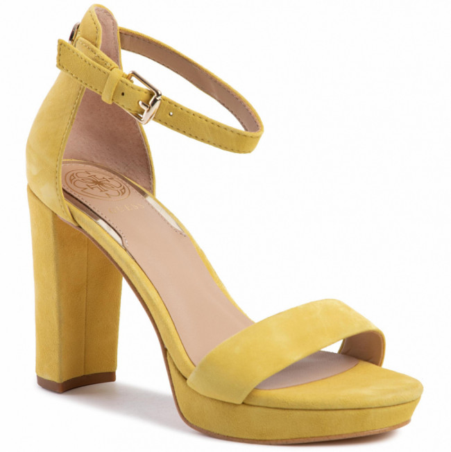 Sandále GUESS - Omere FL5ORE SUE03 YELLOW