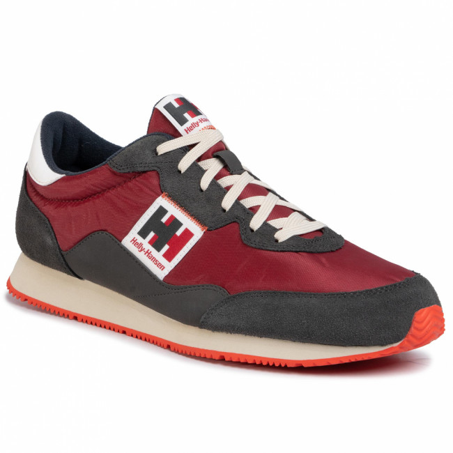Sneakersy HELLY HANSEN - Ripples Low-Cut Sneaker 114-81.215 Oxblood/Ebony/Off White/Cherry Tomato