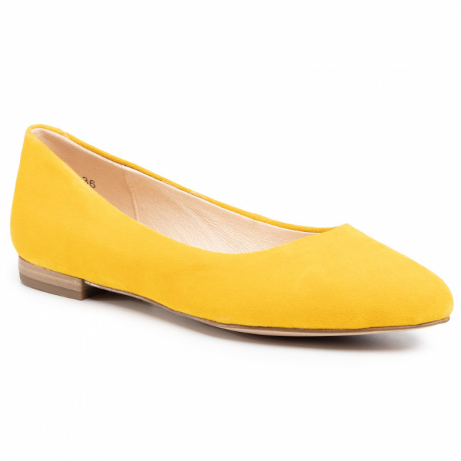 Baleríny CAPRICE - 9-22104-24 Yellow Suede 641