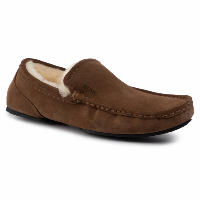 Papuče BOSS - Relax 50423231 10223624 01 Medium Brown 210