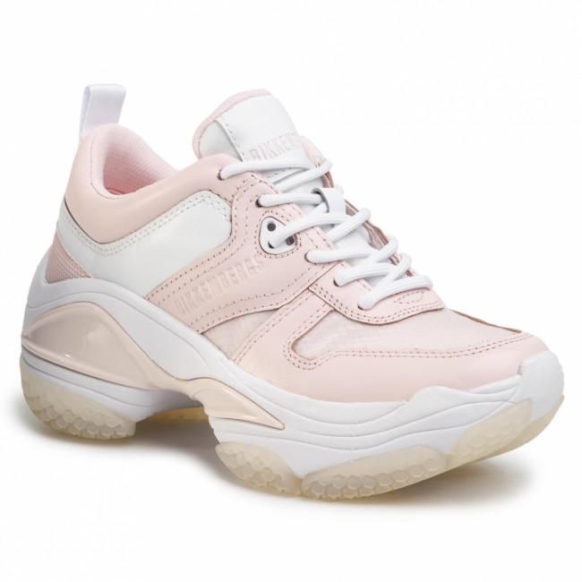 Sneakersy BIKKEMBERGS - Pascaline B4BKW0092 Soft Pink/White