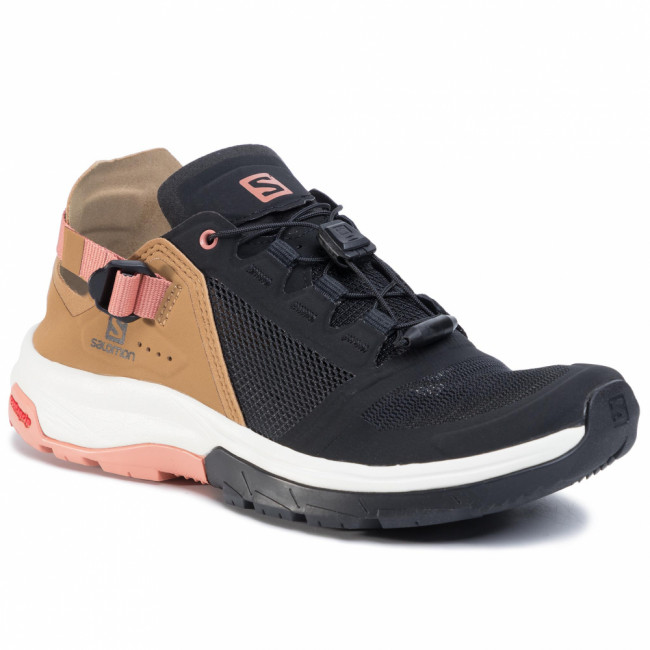 Trekingová obuv SALOMON - Tech Amphib 4 W 409928 23 VO  Black/Bistre/Tawny Orange