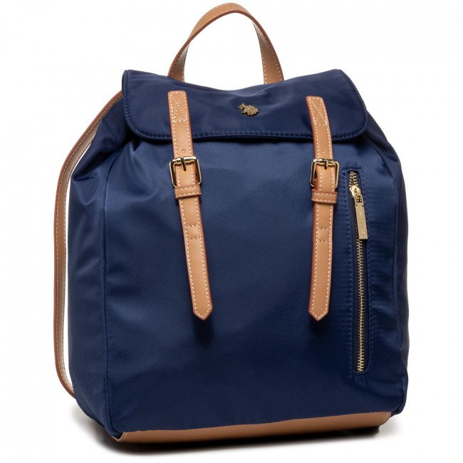 Ruksak U.S. POLO ASSN. - Houston Backpack Bag BEUHU2813WIP/292 Navy/Beige