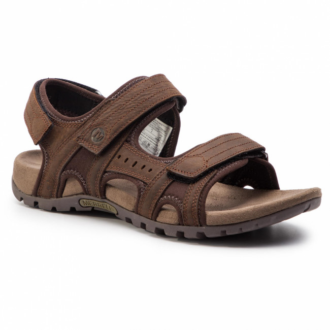 Sandále MERRELL - Sandspur Lee Backstrap J90495 Dark Earth