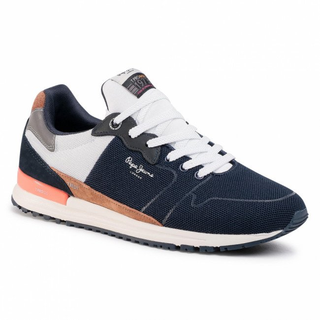 Sneakersy PEPE JEANS - Tinker Pro Racer PMS30620 Navy 595