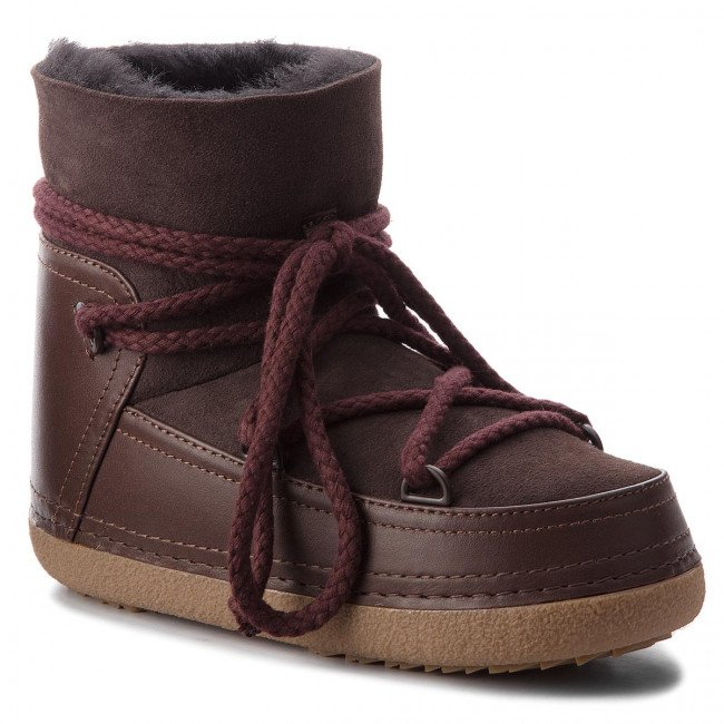 Topánky INUIKII - Boot Classic 70101-7 D'Brown