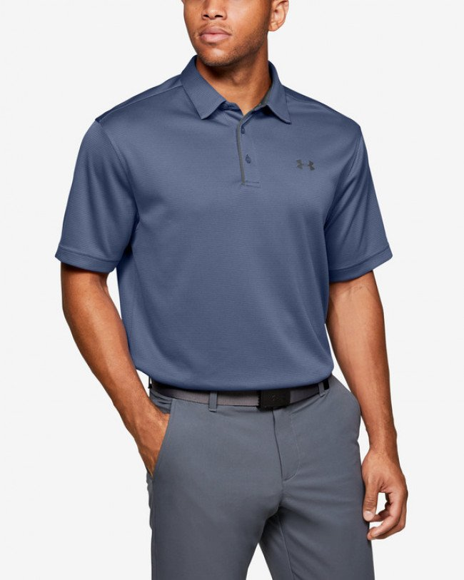 Under Armour Tech™ Polo tričko Modrá Šedá