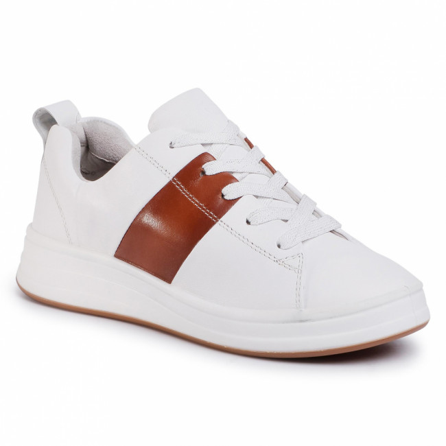 Sneakersy TAMARIS - 1-23713-24 White/Cognac 144