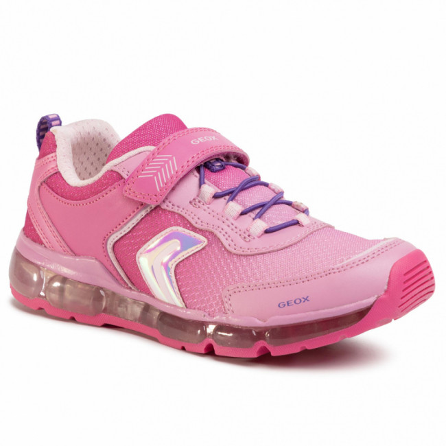 Sneakersy GEOX - J Android G. A J0245A 014AJ C8002 D Fuchsia