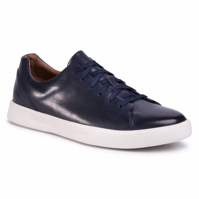Sneakersy CLARKS - Un Costa Lace 261485577 Navy Leather