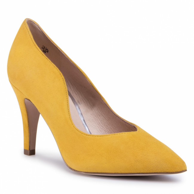 Poltopánky CAPRICE - 9-22403-24 Yellow Suede 902