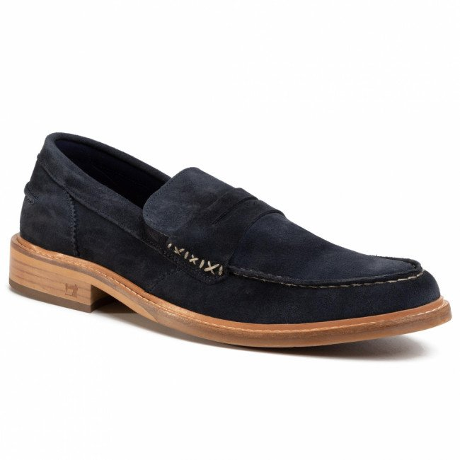 Mokasíny SCOTCH & SODA - Spinel 20873658 Marine S69