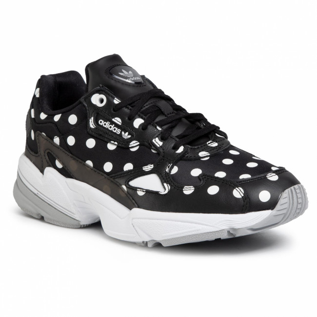 Topánky adidas - Falcon W EH3522  Cblack/Crywht/Gretwo