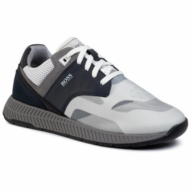 Sneakersy BOSS - Titanium 50422396 10214595 01 Open Blue 460